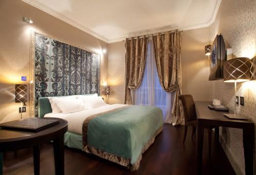 Hôtel Ares Eiffel – Eenpersoonskamer